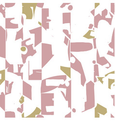 modern and artistic seamless pattern design vector image