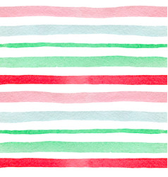pattern with green and red lines vector image