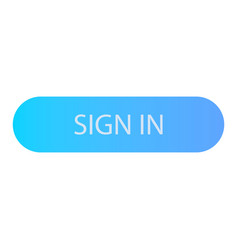 sign in button icon isometric style vector image