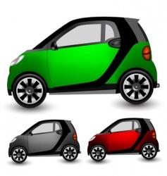 Small city car vector
