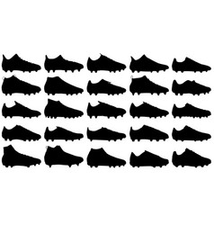 Soccer boots vector