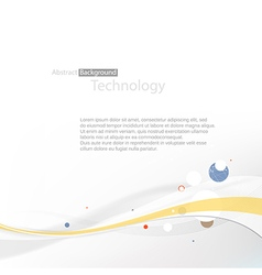 Technology abstract background vector
