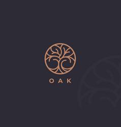 Tree logo icon vector