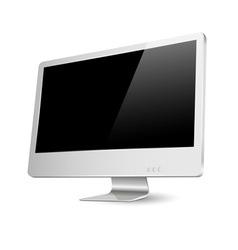 Modern computer monitor vector image vector image