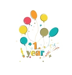 Phase happy birthday vector image vector image
