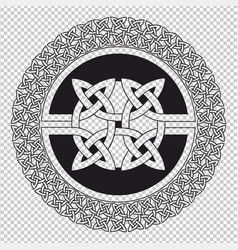 Celtic knot pattern vector