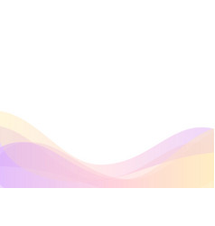 Curve line layer abstract background vector