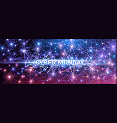 cyber monday technology vector image