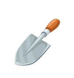 Garden shovel vector