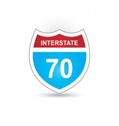 Interstate 70 vector