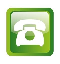 phone icon symbol design vector image vector image