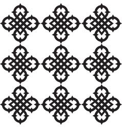 Celtic knots pattern vector image