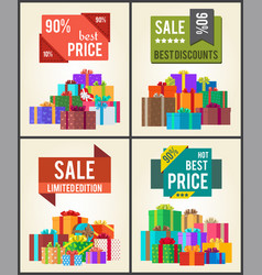 90 best price limit edition super discount vector image vector image