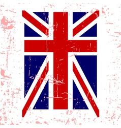 British flag t shirt typography graphics vector image