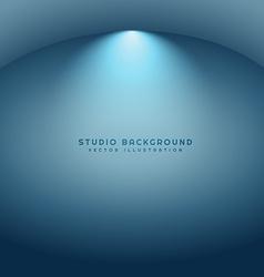 Clean studio background vector