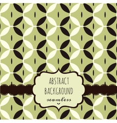 Geometric background template vector