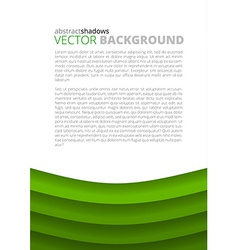 Green background for design vector