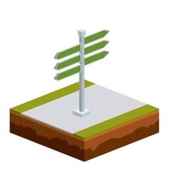 isometrics signal design vector image