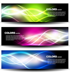 shiny header vector image