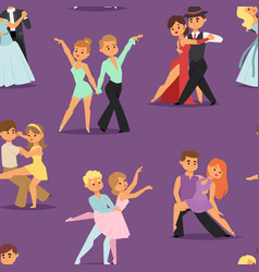 couples dancing romantic person people dance man vector image