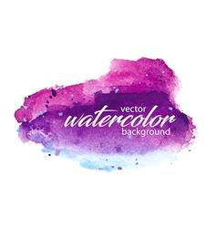 watercolor 0003 vector image