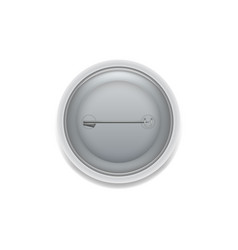 back side pin badge vector image