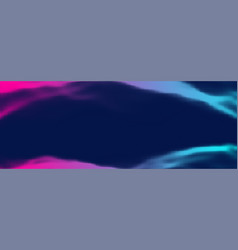halftone retro background pink blue vector image