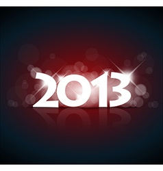 New Year card 2013 vector image