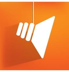 speaker icon flat design vector image