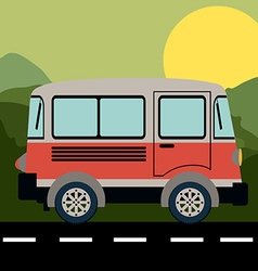 Transport design vector image