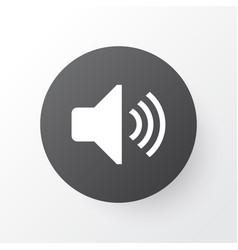 volume icon symbol premium quality isolated sound vector image