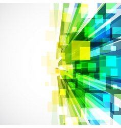 3d bright abstract background with transparent vector image