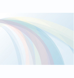 abstract background with colorful curve light vector image