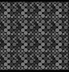 Abstract dark grey seamless dot pattern vector