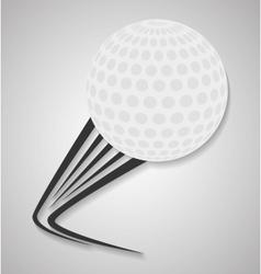 Ball of golf sport design vector