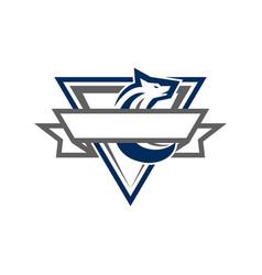 Coyote esport logo vector