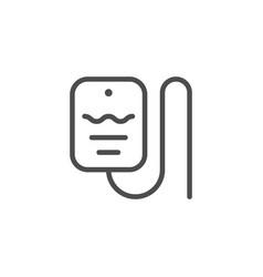 drop counter line icon vector image