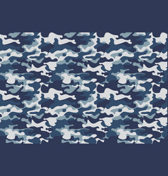 horizontal banner seamless camouflage pattern vector image