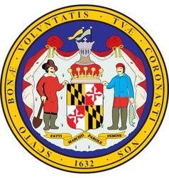 Maryland Seal vector