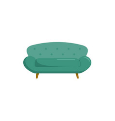 sette sofa icon flat style vector image