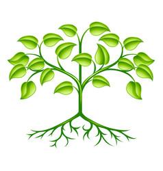 Stylised tree design vector