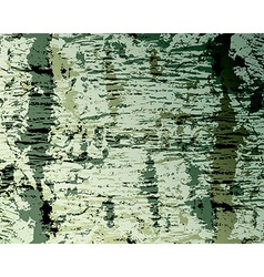 Texture and pattern of wood on green vector image
