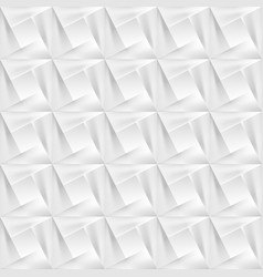 White geometric decorative texture - seamless vector