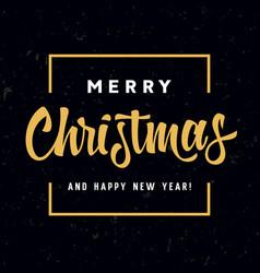 merry christmas 007 vector image