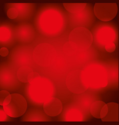 abstract blurred light bokeh bright vector image