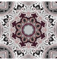 Mandala ethnic background vector image vector image