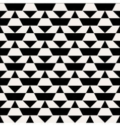 Black and white op art pattern vector image vector image