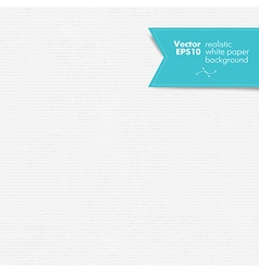 white paper realistic paper seamless vector image