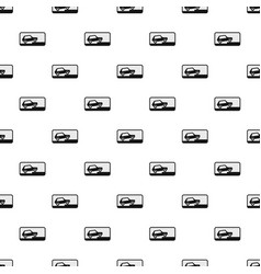 car pattern seamless vector image