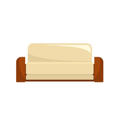English sofa icon flat style vector